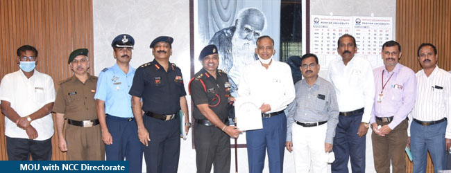 MOU with NCC Directorate
